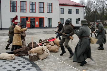Fotostāsts: Preiļos svinīgi atzīmēta Latgales un Preiļu atbrīvošanas simtgade