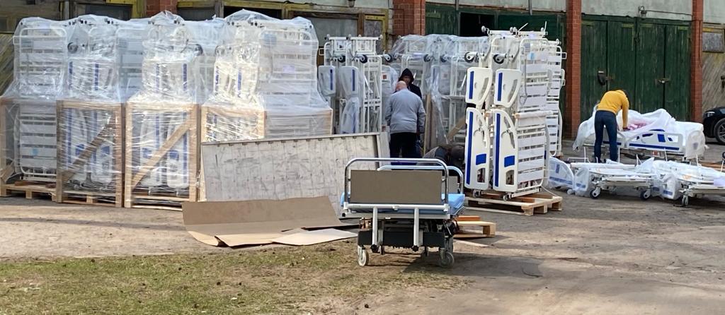 Jēkabpils reģionālā slimnīca iegādājas jaunas multifunkcionālās gultas (FOTO)
