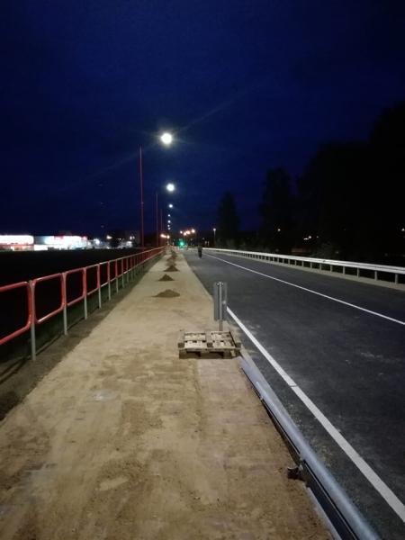 Atjaunota transporta kustība Jēkabpilī, Neretas ielā no Ledus ielas līdz Daugavas tiltam