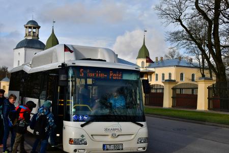 Jēkabpilī 18.novembrī pilsētas sabiedriskajā transportā varēs braukt bez maksas