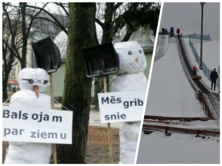 Īstas ziemas nebūšot arī pēdējā ziemas mēnesī