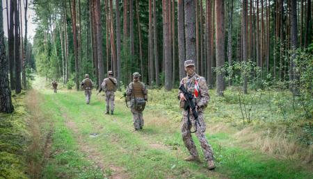 """Militāro mācību """"Namejs 2021"""" apmācības norisināsies arī Jēkabpils novada Kūku, Mežāres un Vīpes pagastā"""
